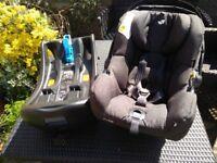 Joie i-Gemm i-Size Car Seat / Baby carrier & Base