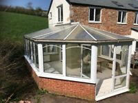 Conservatory -FREE! Large UPVC conservatory. Needs to go! Lockable double door