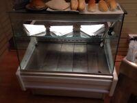 Display chiller fridge display counter