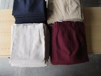 Joblot Approx 1050 Tailored Pants / Skirt 4 Colours Various Sizes Job Lot