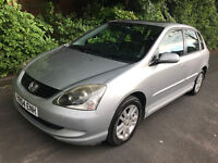 2004 Honda Civic Executive- * 60k miles GUARANTEED * MOT 03/18 - CAMBELT CHANGED - LOADS OF HISTORY