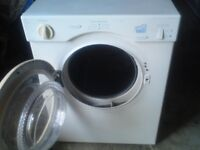 WHITE KNIGHT 3KG,TUMBLE DRYER,REAR VENTED,WORKS AND DRYS WELL,CAN BE SEEN TESTED,creda,bosch