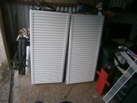 Radiators 1150mm x 600mm