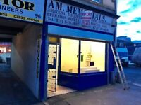 Shop in Paisley for Rent, Good Area