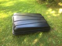 Auto-Plas 350 Litre Black Roof Box with Fittings