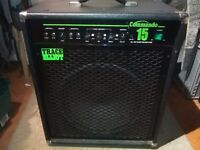 "Trace Elliott 150w 15"" Bass Guitar Combo"