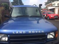 2001 Land Rover discovery 2 td5