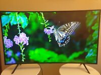 Samsung 49 Inch Curved 4K UHD With HDR10+ WithTV Plus (Model UE49RU7300)!!!