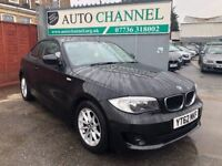 BMW 1 Series 2.0 118d ES 2dr£7,495 p/x welcome 1 YEAR FREE WARRANTY. NEW MOT