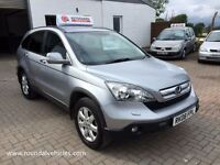 "NOW REDUCED 2008 Honda CR-V ( CRV ) 2.2 ctdi DIESEL 4x4 ""ES"" model 120k hist, LONG MOT, Ready to go!"