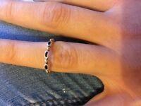Two tone Pandora Ring size 50