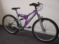 BOYS & GIRLS !! It is summer ! A1 condition! British Eagle Full Sus. Sys. 26 '' UNSEX BIKE.£80.0