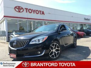 2017 Buick Regal Sport Touring, Leather, Back Up Camera, Blk Whe