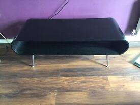 Made black retro table