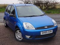 Ford Fiesta 1.4 Zetec, 5 Door Hatchback, 2005, 2 Owners, FSH (Timing Belt Changed at 69k Miles)