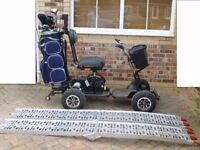 2012 Power House Pro Golf Buggy with Lithium Battery, charger and ramps