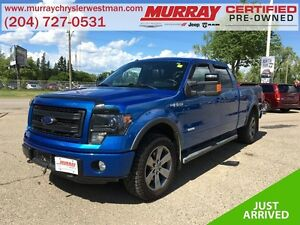 2014 Ford F-150 SuperCrew 4WD 3.5L *Backup Cam* *Wifi* *Heat/Ven