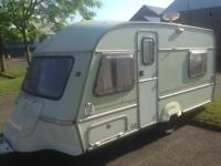 4 berth Abi globetrotter with 2 double bed and awning and extras