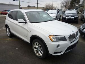 2013 BMW X3 xDrive28i NAVI/B.UP CAM/ EXT WARR TILL JULY 2018 !