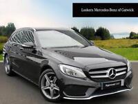 Mercedes-Benz C Class C220 BLUETEC AMG LINE PREMIUM (black) 2014-11-19