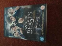 Fantastic Beasts and Where to Find Them DVD for sale.