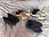 x4 Pairs of Adidas Trainers/Boots