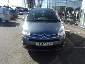 2007 07 CITROEN C4 PICASSO 2.0 GRAND VTR PLUS 16V EGS 5D 139 BHP **** GUARANTEED FINANCE ****
