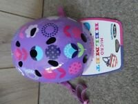 Micro Scooter Floral Dot Safety Helmet from John Lewis Size Small