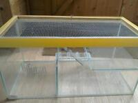 Hamster, gerbil, mouse cage, tank home