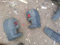 Iveco daily rear bumper trims. Fits all models of iveco daily vans