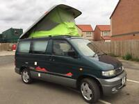Mazda bongo camper van professional conversion full side kitchen rock roller bed 4wd auto freetop