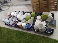42 random mugs and cups central London bargain