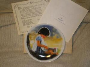 """""""By Myself"""" Collectible Plate by Donald Zolan"""