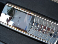 VERTU ASCENT K2 MOBILE PHONE BOX & PAPERS ON O2