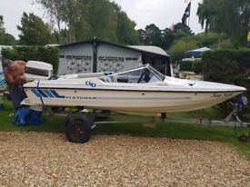 15 foot fletcher gto speed boat