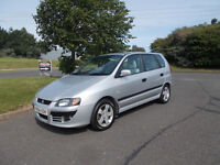 MITSUBISHI SPACE STAR CLASSIC 1.3 MPV SILVER 2004 FULL MOT BARGAIN ONLY £650 *LOOK* PX/DELIVERY