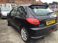 Peugot 206 gti LOW MILES!! Not gsi st rs no swaps/px astra corsa vectra focus fiesta