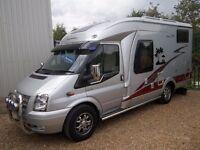 Ford Transit Hobby Van T500 2.2 TDCI Motorhome for sale at Kent Motorhome Centre