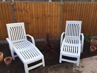 Nardi sun loungers RRP £156