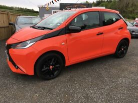 2015 Toyota Aygo Auto, X-Shift, 3 years warranty, Finance available
