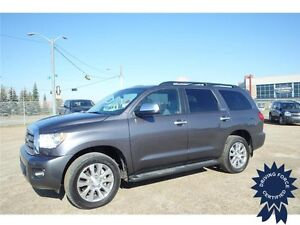 2014 Toyota Sequoia Limited 4x4 - Performance Tires, Parking Aid