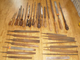 Large collection of 33 industrial / Engineering Hand Files
