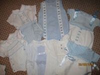 Spanish baby boys 7 outfits 0-3months