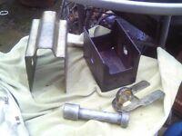 caravan hitch lock with key