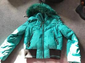 Versace coat size 8/10