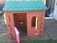 Used little Tikes Log Cabin