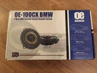 "OE AUDIO 4"" COAXIAL STRAIGHT FIT, FRONT/REAR SPEAKERS, BRAND NEW"