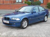 BMW 318I + NEW MOT WITH NO ADVISORIES +