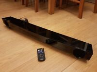Yamaha YAS101 SoundBar System with Built-In Subwoofer - Black