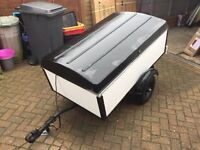 5ft x 3ft Trailer with Lid and Lightbar